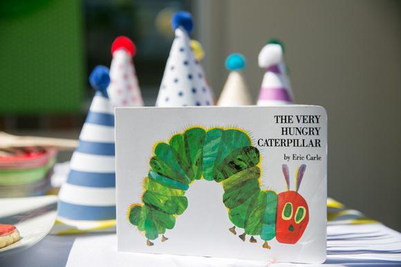 A Very Hungry Caterpillar Birthday Bash