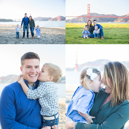 Crissy Fields is a wonderful location for family photos, Tina Case Photography