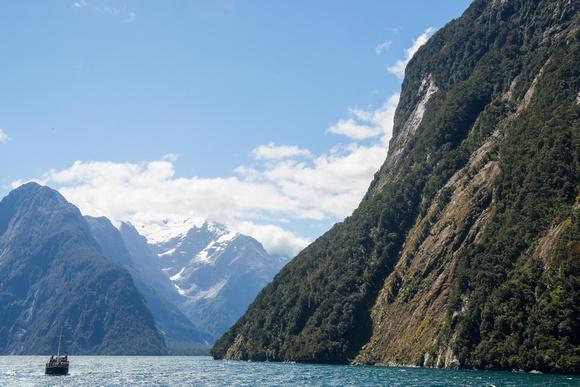 Milford Sound, Milford Fjords