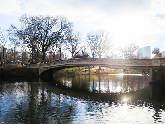 Bow Bridge in New York