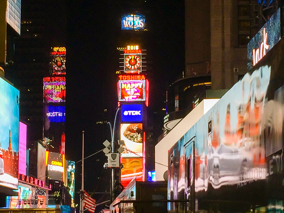 Bring in the New Year at Times Square!
