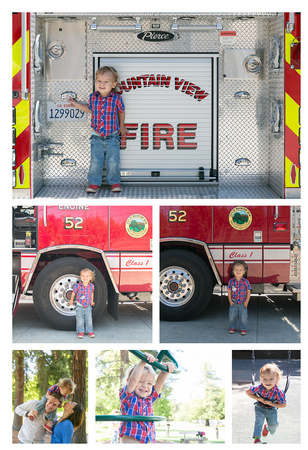 Mountain View Firehouse and Cuesta Park