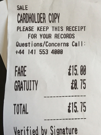 Keep your receipts, they may have vital info