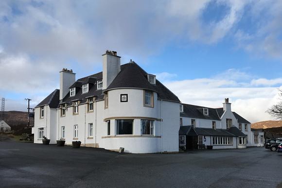 Sligachan Hotel on the Isle of Skye