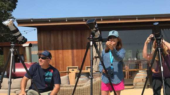 Who wore their DIY Solar Filter best?
