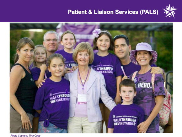 Photo of a pancreatic cancer survivor for the printed publication.