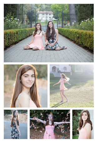 High School Senior Best Friend Session with Tina Case
