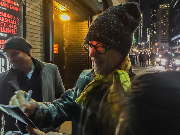If you cannot afford to see a Broadway show, stand in line to get some autographs after the actors exit the theatre!