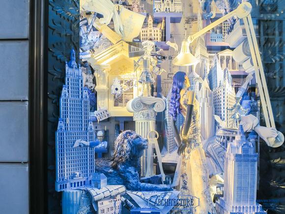 Window displays in NYC