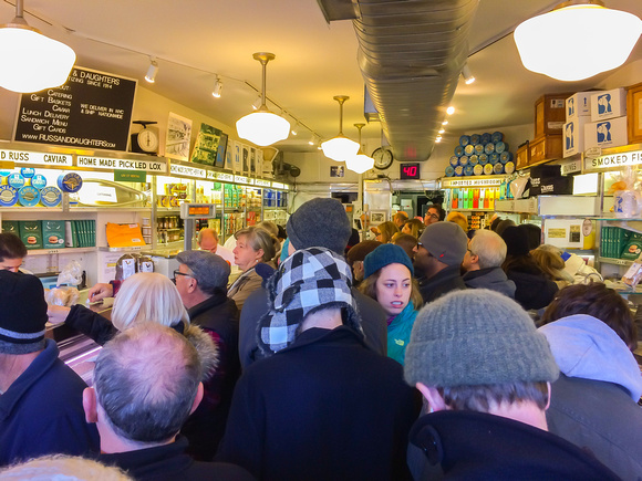 Russ and Daughters in NYC