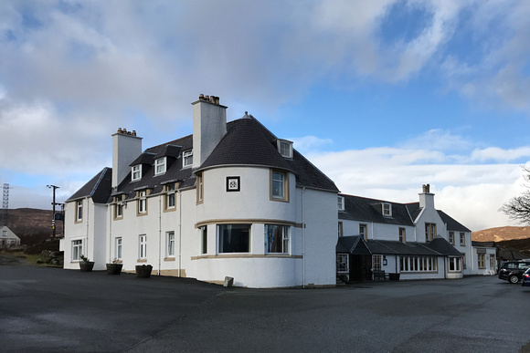 Sligachan Hotel on the Isle of Skye