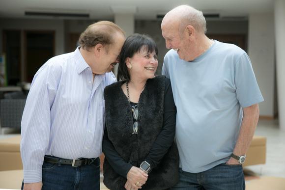 Artie Butler, Iris Dart and Mike Stoller