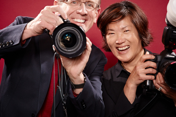 John LOVES photography, in this photo captured by photographer Robyn Twomey.