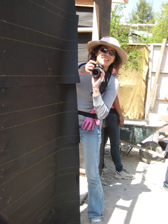 Taking photos between tasks as my family builds a home for the needed.  Mexico.