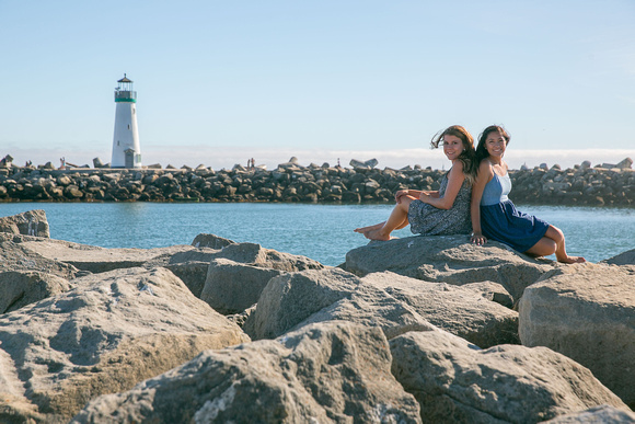 Portrait Session at Twin Lakes Beach, Santa Cruz