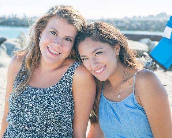 Portrait Session at Twin Lakes Beach, Santa Cruz