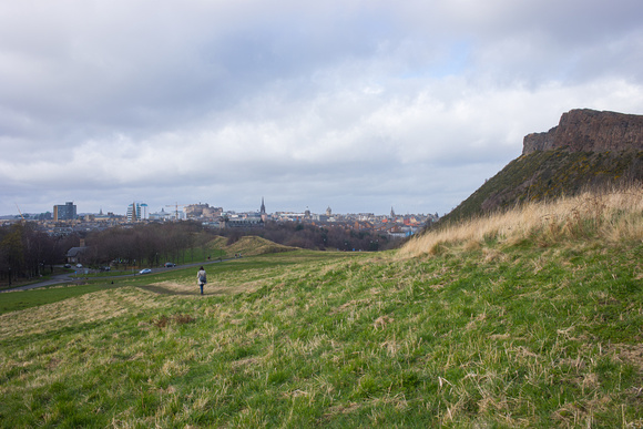 Edinburgh, Looking out from Arthurs Seat