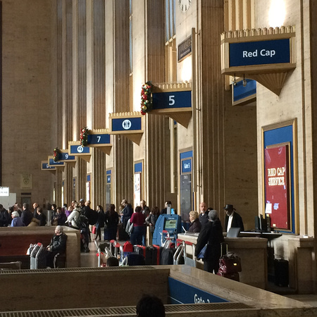 Penn Station in NYC